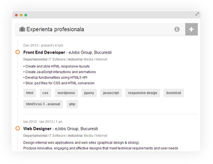 Meet the new ejobs cv update your experience now yelopaper Image collections
